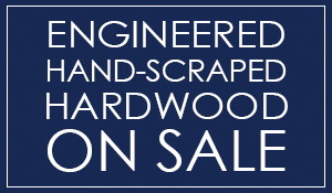 Engineered, Hand-Scraped Hardwood on sale now starting as low as $3.75 Sq. Ft. Only at your most trusted carpet store - Florence Carpet and Tile in Florence, South Carolina.